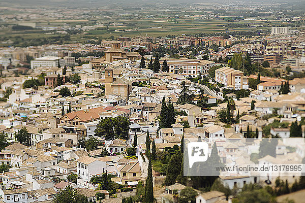 Spanien  Granada  Stadtbild