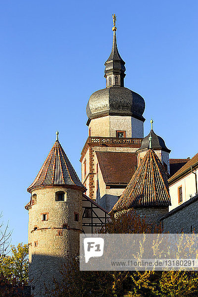 Deutschland  Bayern  Würzburg  Festung Marienberg