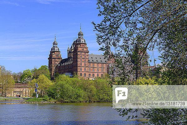 Deutschland  Bayern  Franken  Unterfranken  Aschaffenburg  Schloss Johannisburg am Main