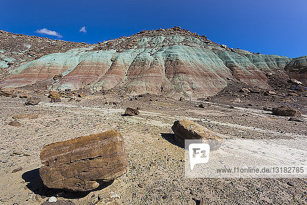 USA  Utah  Farbige Berge