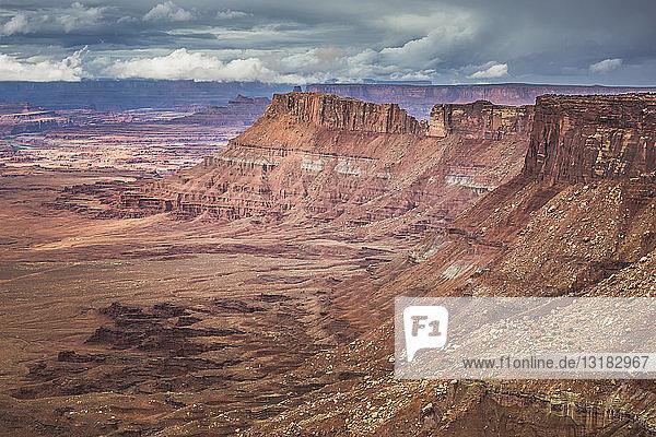 USA  Utah  Canyonlands National Park  Die Nadeln  Ansicht
