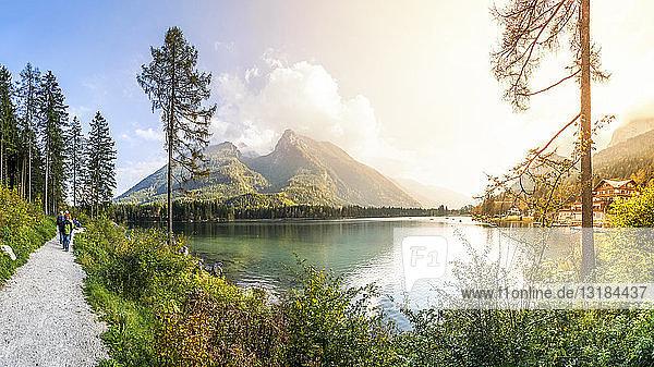 Deutschland  Bayern  Berchtesgadener Land  Hintersee