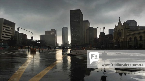 Urban Raindrops  CGI Effect