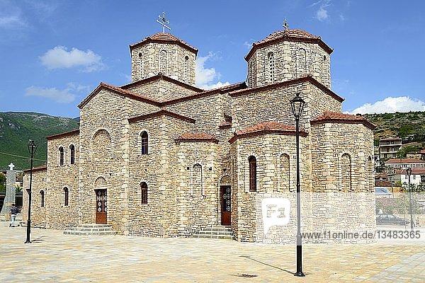 Orthodoxe Kirche St. Erzengel Michael  Pustec  Nationalpark Prespa  Albanien  Europa