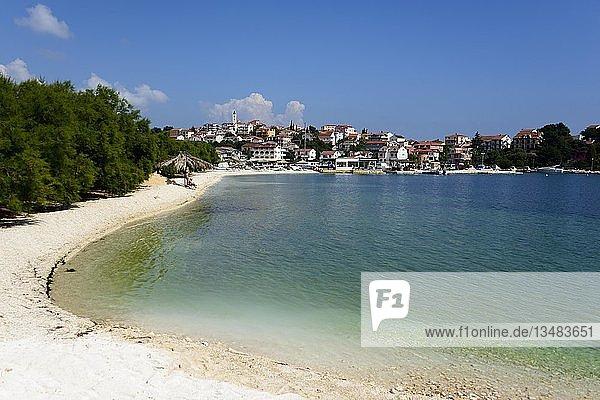 Strand  Seget Vranjica  Dalmatien  Kroatien  Europa