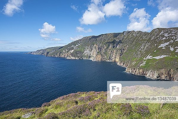 Slieve League  Europas höchste Steilküste  Slieve League  County Donegal  Irland  Europa