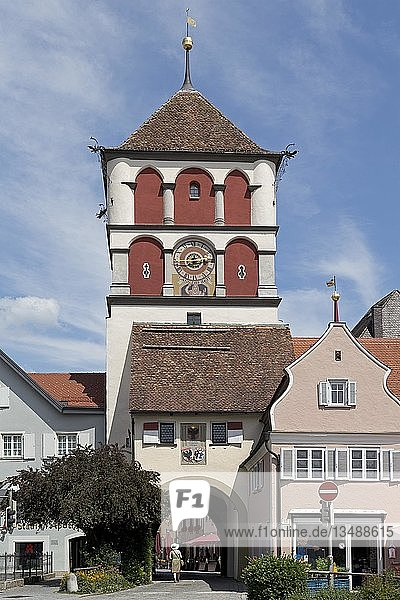 Martinstor  Wangen  Allgäu  Baden-Württemberg  Deutschland  Europa
