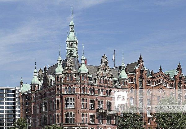 Speicherstadt-Rathaus  Speicherstadt  Hamburg  Deutschland  Europa