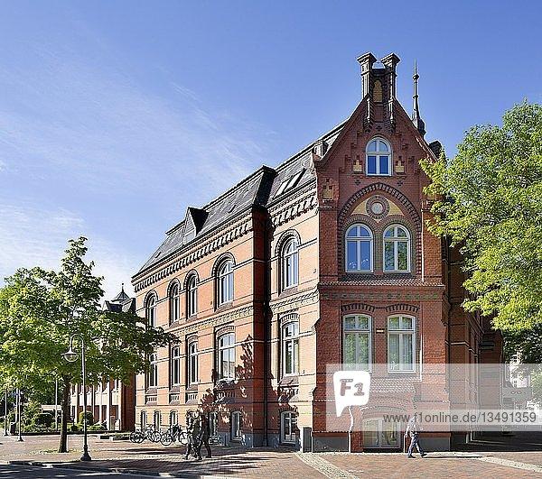 Historisches Rathaus  Winsen an der Luhe  Niedersachsen  Deutschland  Europa