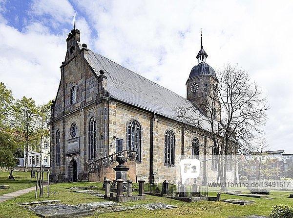 Evangelisch-Reformierte Kirche  Bad Bentheim  Niedersachsen  Deutschland  Europa