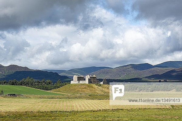 Ruthven Barracks bei Kingussie  Badenoch District  Highlands  Schottland  Großbritannien  Europa