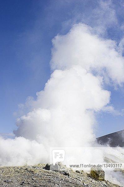 """Vulkan Vulcano  Liparische  Ã""""olische Inseln  Sizilien  Italien  Europa"""