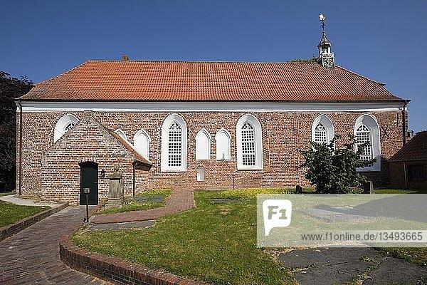 Evangelisch reformierte Kirche  Greetsiel  Krummhörn  Ostfriesland  Niedersachsen  Deutschland  Europa