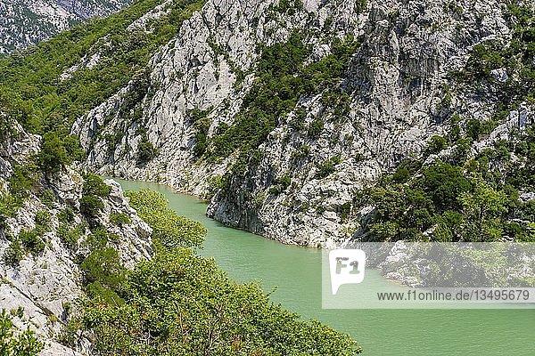 Mat-Schlucht nahe Milot  Qark Lezha  Albanien  Europa