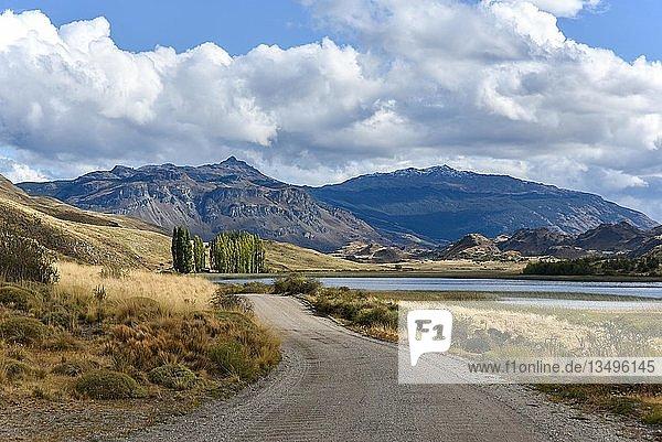 Carretera Austral  Ruta CH7  Panamericana Highway  nahe Cochrane  Nationalpark Tamango National Reserve  Region de Aysen  Patagonien  Chile  Südamerika