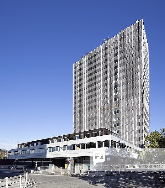 Postscheckamt bzw. Postbank-Hochhaus  Essen  Ruhrgebiet  Nordrhein-Westfalen  Deutschland  Europa
