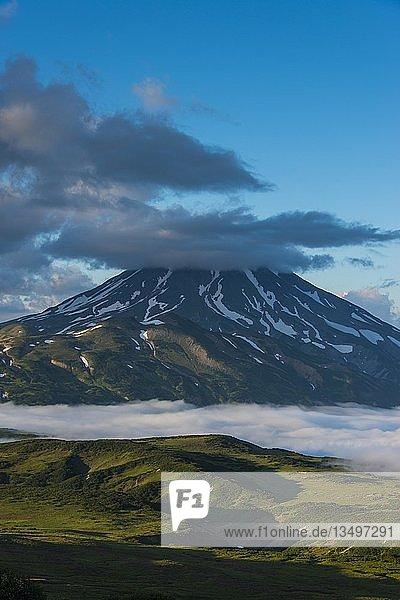 Vulkan Vilyuchinsk  Kamtschatka  Russland  Europa