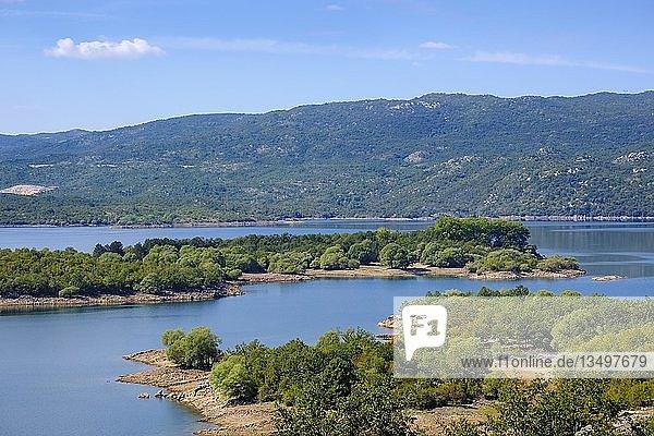 Krupac-See  Krupacko jezero  Provinz Niksic  Montenegro  Europa