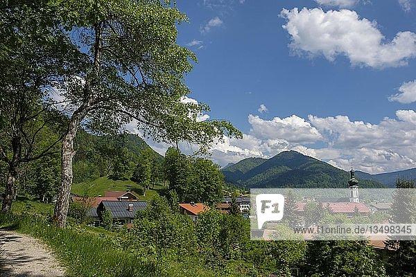 Reit im Winkl  Chiemgau  Oberbayern  Bayern  Deutschland  Europa