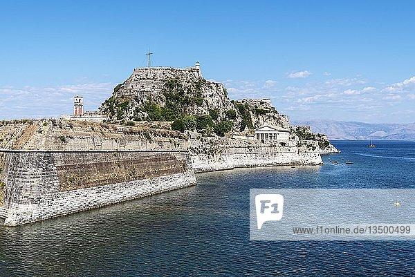 Alte Festung  Kerkyra  Insel Korfu  Ionische Inseln  Griechenland  Europa