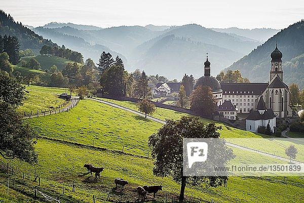 Kloster St. Trudpert im Münstertal  Staufen  Baden-Württemberg  Schwarzwald  Deutschland  Europa