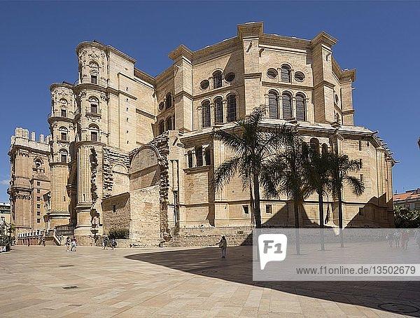 Kathedrale  Catedral de la Encarnacón  Málaga  Costa del Sol  Andalusien  Spanien  Europa