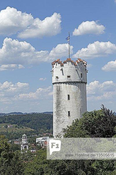 Turm Mehlsack  Ravensburg  Baden-Württemberg  Deutschland  Europa