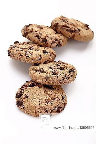 Cookies mit Schokoladenstücken  Chocolate Cookies