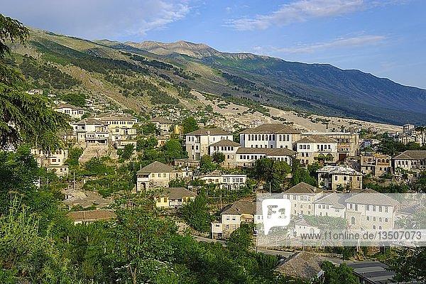 Altstadt  Gjirokastra  Gjirokastër  Albanien  Europa