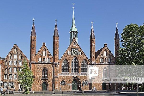 Heiligen-Geist-Hospital  Lübeck  Schleswig-Holstein  Deutschland  Europa