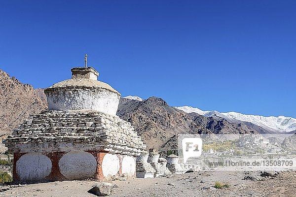 Likir Kloster oder Likir Gompa  Ladakh  Indien  Asien