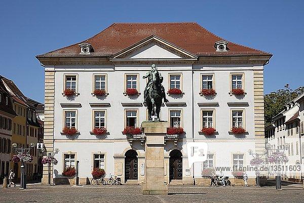 Neues Rathaus  Rathausplatz  Landau in der Pfalz  Pfalz  Rheinland-Pfalz  Deutschland  Europa
