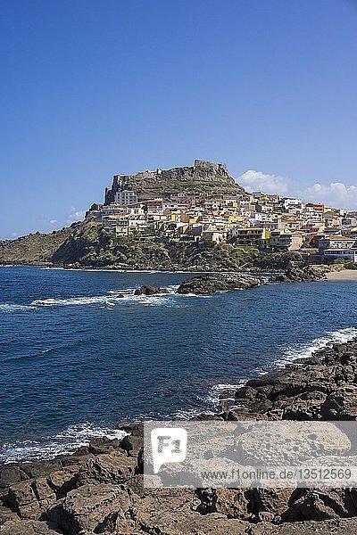 Castelsardo  Provinz Sassari  Sardinien  Italien  Europa