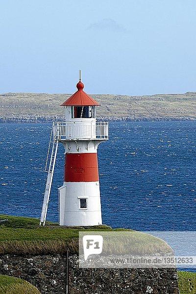 Lighthouse of Skansin  Streymoy  Faroe Islands  Denmark  Europe