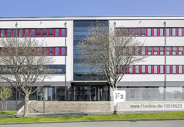 Universität Paderborn  Hauptcampus  Fakultätsgebäude Informatik  Paderborn  Ostwestfalen  Nordrhein-Westfalen  Deutschland  Europa