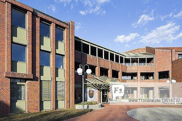 Kreishaus des Landkreises Emsland  Meppen  Emsland  Niedersachsen  Deutschland  Europa