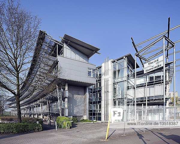 Technologie- und Gründerzentrum Hamtec  Hauptgebäude  Hamm  Ruhrgebiet  Nordrhein-Westfalen  Deutschland  Europa