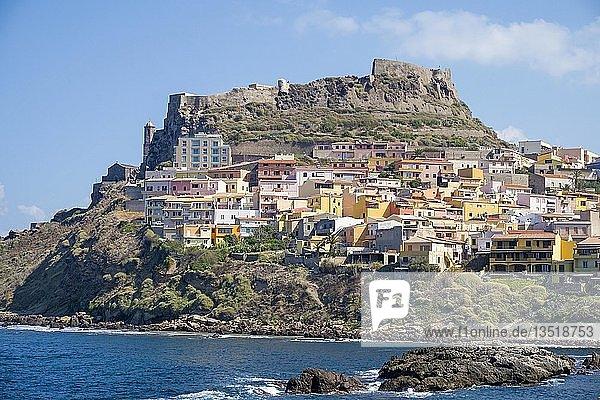 Castelsardo  Gemeinde in der Provinz Sassari  Sardinien  Italien  Europa