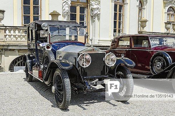 Rolls-Royce Silver Ghost I ab Baujahr 1906  Oldtimertreffen Classics meets Barock  Schloss Ludwigsburg  Regierungsbezirk Stuttgart  Baden-Württemberg  Deutschland  Europa