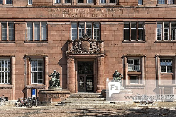 Kollegiengebäude der Albert-Ludwigs-Universität  Freiburg im Breisgau  Schwarzwald  Baden-Württemberg  Deutschland  Europa