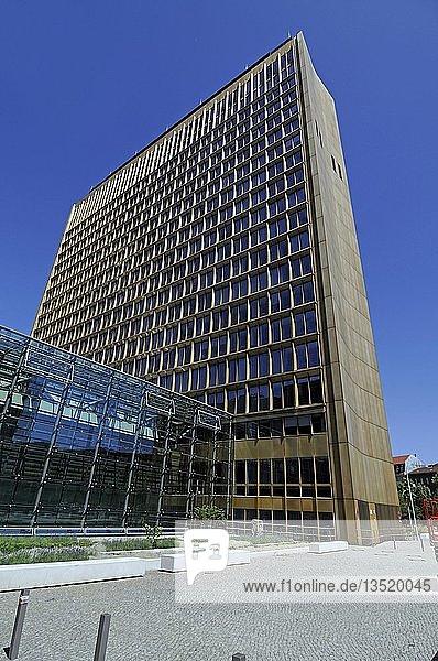 Axel Springer Haus  Berlin  Deutschland  Europa