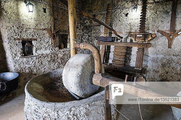 Ethnographisches Museum  Kruja  Krujë  Qark Durrës  Qark Durres  Albanien  Europa