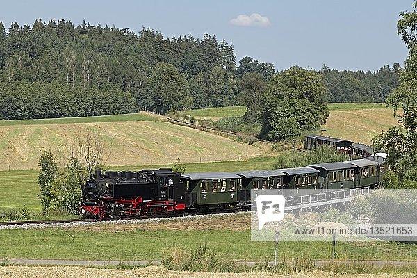 Museumsschmalspurbahn Öchsle  Wennedach  Baden-Württemberg  Deutschland  Europa