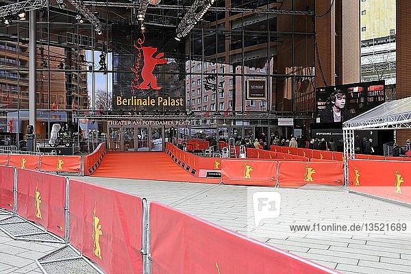 Das Theater am Potsdamer Platz während der Berlinale  Berlin  Deutschland  Europa