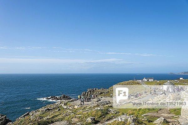 Wanderwege an der Westküste  Lands End  Cornwall  England  Großbritannien  Europa