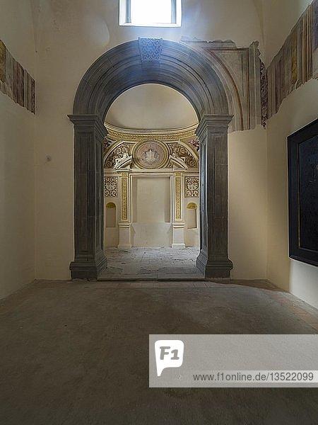 Kloster Certosa di San Giacomo  Capri  Golf von Neapel  Kampanien  Italien  Europa