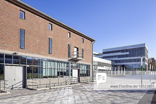 Zentraler Campus Derendorf der Hochschule Düsseldorf  Düsseldorf  Rheinland  Nordrhein-Westfalen  Deutschland  Europa