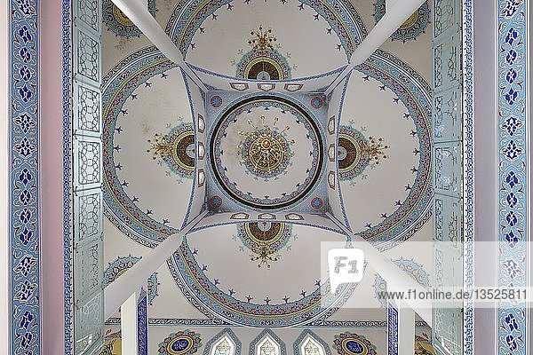 Decke der Parruca-Moschee  Xhamia e Parrucës  Shkodra  Shkodër  Qark Shkodra  Albanien  Europa