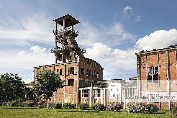 Mining museum  Noyant d'Allier  Allier departement  Auvergne-Rhone-Alpes  France  Europe