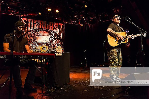 The American singer and songwriter Everlast live at the Schüür Lucerne  Switzerland  Europe